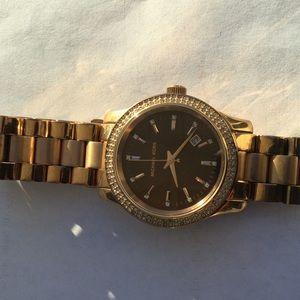 Michael Kors Runaway Brown Dial Watch